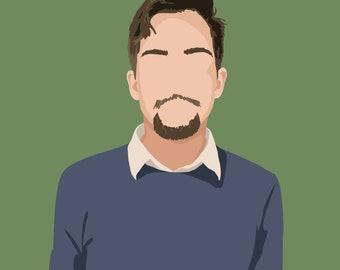 Custom Portrait - Graphic Design