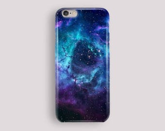 Blue Galaxy Phone Case, iPhone 5S Case, iPhone 6S Plus, iPhone 7 Case, iPhone 8 Plus Case, Samsung Galaxy S8 Case, Samsung Galaxy S7