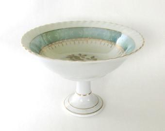 Vintage Pedestal Bowl Made in Japan / Trinket Dish