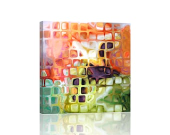 Abstract Colorful Giclee Canvas Wall Art