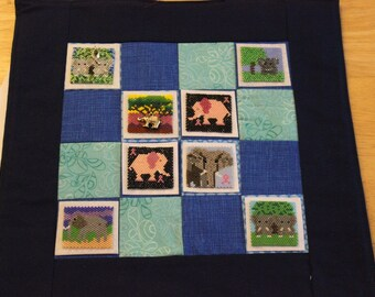 Bead-It-Forward Animal Themed Quilt Elephants BIF107