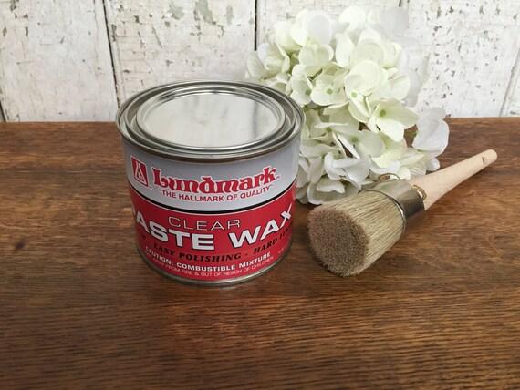 Furniture Paste Wax - Wood Wax - Carnauba Wax - Furniture Refinishing - Best Furniture Polish - Hardwood Floor Wax - Palm Wax