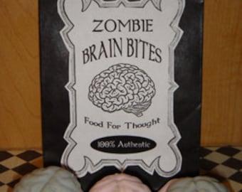 Zombie Brain Bites Sugar Cookies