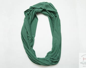 Infinity Scarf - Green - Long scarf