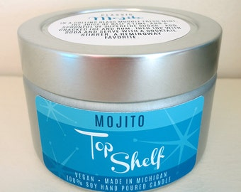 Mojito Soy Candle - Top Shelf Collection
