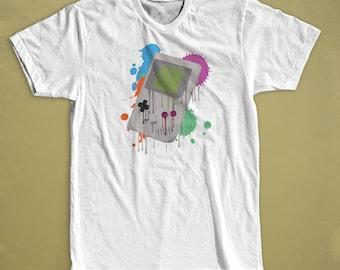 Gameboy Shirt - inspired by Gaming Shirt / Retro Gaming / Video Games / Gaming Art Gaming T Shirt / Gaming Tshirt Video Game Shirt