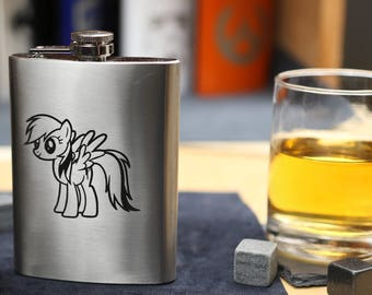 My Little Pony - Stainless Steel Hip Flask