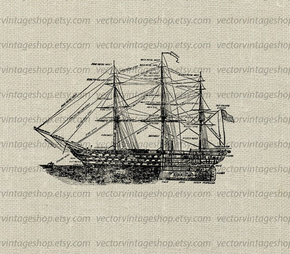 Ship diagram vector clipart commercial use old blueprint ship diagram vector clipart commercial use old blueprint illustration printable navy art royalty free instant download web1750ag from malvernweather Gallery