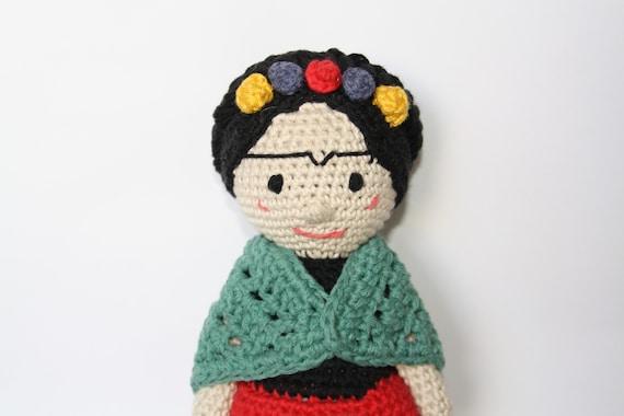 Amigurumis De Frida Kahlo : Hola cómo están hoy quiero mostrarles esta pequeña frida kahlo