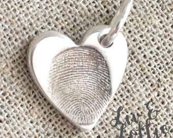 Silver Fingerprint jewelery