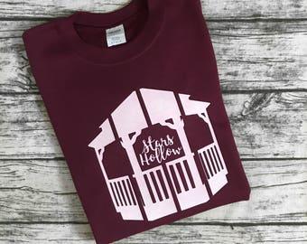 Stars Hollow Gazebo Sweatshirt from the popular TV show Gilmore Girls! Home to Lorelai and Rory. Cute and cozy sweatshirt!