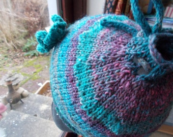 Ponytail hat, Messy bun hat, ponytail beanie,knitted ponytail hat