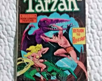 DC Giant Tarzan #238 June 1975 vintage