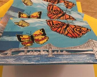 Grateful Butterflies Boxed Notecards