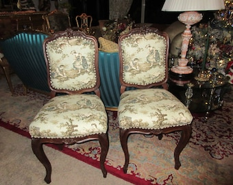 ON SALE.  French Antique Chairs