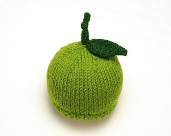 Key Lime Baby Hat • Key Lime Newborn Hat • Lime Baby Hat • Baby Fruit Hat • Key Lime Baby Gift • Newborn Photo Prop • Lime Baby Shower Gift