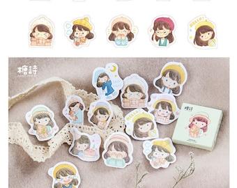 Girls Stickers Pack SM232427 45pcs