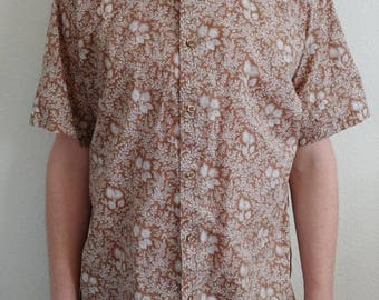 Vintage Flora Fauna Shirt