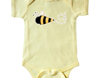 Bumble Bee Infant Creeper by Inktastic