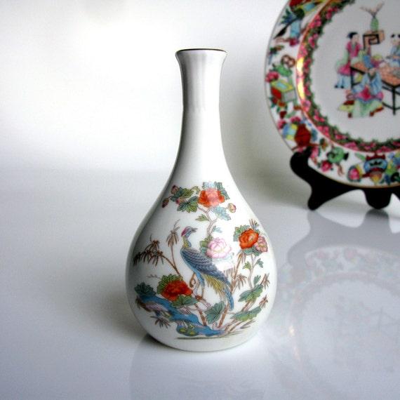 English Bone China Vase Wedgwood Porcelain Vase Bud