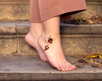 Anklet Design - Geometric Collection