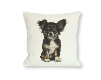 Chihuahua. Instant Download. DIY Chihuahua Design for Pillows. Digital Download. Full Color Printable Art.