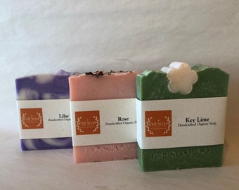 Any 3 Soaps for 20 dollars