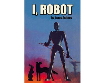 Canvas Art Print - I, Robot (Isaac Asimov)