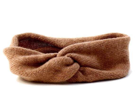 Camel Cashmere Headband