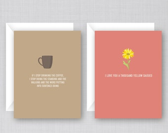 Gilmore Girls Cards 6 Pack | Funny Gilmore Girls Cards