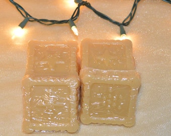 4 Apple Cinnamon Streusel scented wax melts, highly scented, flameless fragrance