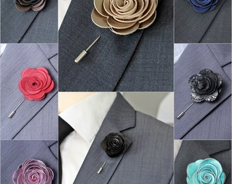 Royal rose flower lapel pin, shabby chic flower Boutonniere,Lapel Flower pin, mens boutonniere, flower lapel pin, mens gift, hindi wedding