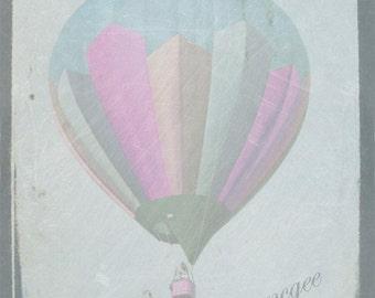 Dreamy Balloon - 8x10