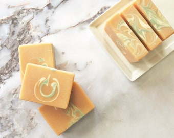 GRAPEFRUIT + MINT Artisan Soap