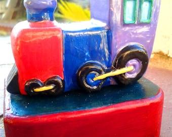 Miniature Train Locomotive