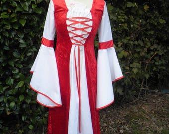 "Dress medieval ""BARTENDER"" custom and color choice"