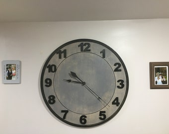 LARGE WALL CLOCK 32 inch