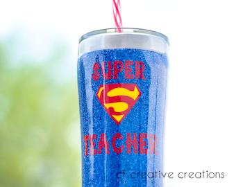 Super Teacher cup  20oz tumbler gift