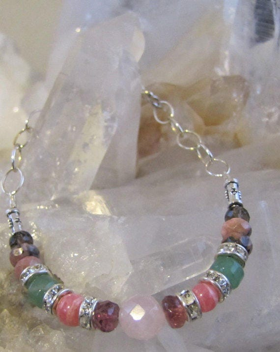 Mother Daugher Matching Bracelets, Chakra Balancing, Sedona and Reiki Charged, Psychic Connections, Crystal Healing, Wiccan