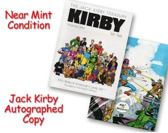 Jack Kirby Treasury, Signed Collectible, Captain America, The X-Men, The Hulk, Thor, D.C. Comics, Marvel Comics, The Avengers, Iron Man