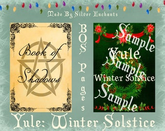 BOS Pages - Yule: Winter Solstice (Multicolour)