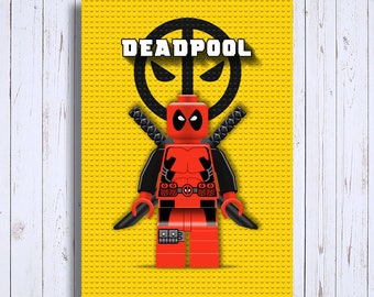 Downloadable digital blade superhero, Deadpool