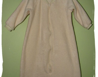 NEW-Fleece-Solid Color CHOICE- Blanket Sleep Sleeper Sack-12-24M with sleeves