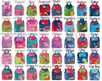 536bde4866b4 Monogrammed Stephen Joseph Quilted Backpack   Children and Toddler Backpack    Personalized   Choose from 40