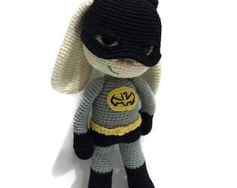 PATTERN - Bat Hero Bunny