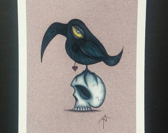Raven - Limited edition Fine art giclee print