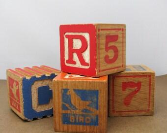 Vintage Toy Blocks