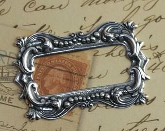 Ornate Silver Frame 1265