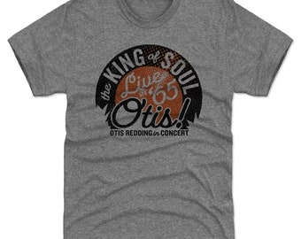 Otis Redding Shirt | Soul Music | Men's Premium T Shirt | Otis Redding Live O
