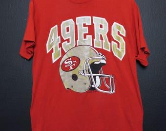 San Francisco Forty Niners 49ers 1990's Vintage Tshirt